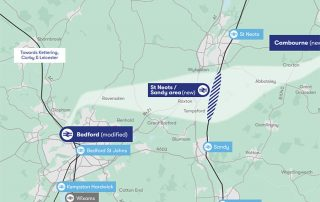 Small image of new railwayline